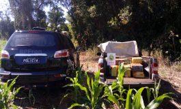 BPFron apreende veículo carregado com 475 quilos de maconha em Pato Bragado
