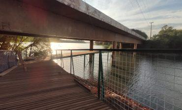 Reforma da Passarela em Entre Rios do Oeste será finalizada nos próximos dias
