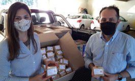 Grupo Solidariedade doa 500 kits com itens de higiene e limpeza à Secretaria de Assistência Social rondonense