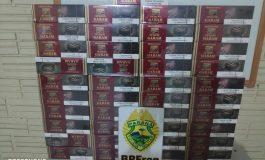 Idosa de 80 anos contrabandeava cigarros de cravo