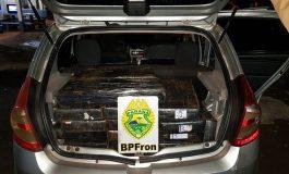 BPFron apreende 631 quilos de maconha em Santa Helena