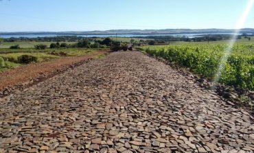 Primeira etapa da pavimentação da rodovia entre Porto Mendes e Bela Vista chega na reta final