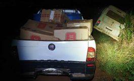 Batalhão de Polícia de Fronteira apreende veículos carregados com cigarros em Guaíra