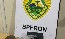 BPFron apreende drogas em Marechal Cândido Rondon
