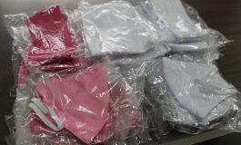 Secretaria de Saúde de Mercedes recebe doações de máscaras e almofadas de amamentação