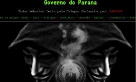 Sites do Governo do Paraná são hackeados e muitos ainda estão fora do ar