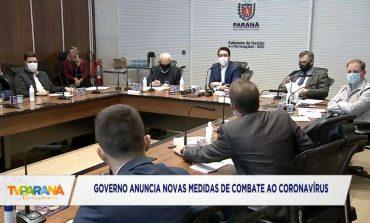 Ao Vivo: Governo do Paraná anuncia medidas para combater o avanço do coronavírus no Estado