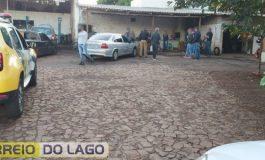 Borracharia é multada e cliente é preso em Entre Rios do Oeste