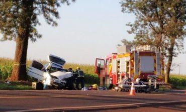 Colisão frontal na rodovia entre Maripá a Palotina resulta em um óbito e dois feridos, um deles com gravidade