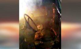 Mulher ateia fogo em veículo do marido e Polícia Rodoviária Estadual é acionada por populares