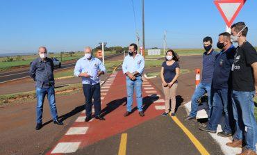 Pato Bragado e Itaipu inauguram Unidade de Valorização de Reciclados e ciclovia à Entre Rios do Oeste