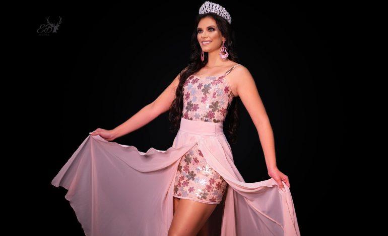 Miss Nova Santa Rosa, Thaline Valiente, participará do Miss Paraná