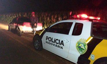 Equipe do Posto Móvel da PRE de Cascavel recupera veículo com alerta de furto e prende condutor