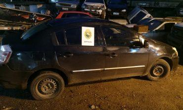 Homem morre em confronto com o BPFron, em Santa Helena, e veículo roubado é recuperado