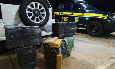 PRF prende casal com 144 quilos de maconha em Terra Roxa