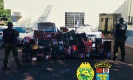 BPFron apreende mais de 1,5 tonelada de maconha em Santa Helena