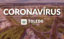 Toledo confirma a 4ᵃ morte e 50 novos casos positivos de coronavírus