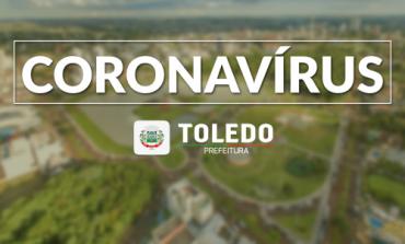 Toledo ultrapassa os mil casos confirmados de coronavírus