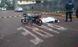 Passageiro de motocicleta é executado a tiros em Toledo