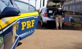 PRF apreende 234 quilos de maconha em Quatro Pontes