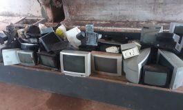Cerca de uma tonelada de lixo eletrônico é coletada em Entre Rios do Oeste