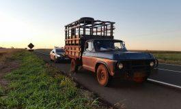 PRF recupera caminhonete furtada em Toledo