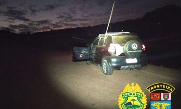 BPFron apreende carro com cigarros contrabandeados em Marechal Cândido Rondon