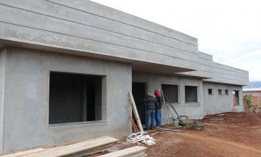 Obra de construção do Centro-Dia em Mercedes segue em andamento