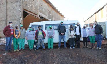 Obra do Barracão de Reciclados de Mercedes está em fase final