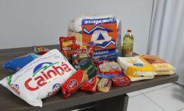 Mercedes recebe 100 cestas básicas por meio da Defesa Civil do Paraná