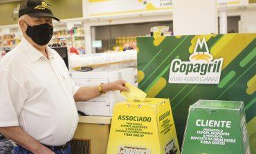 Primeiro sorteio da Campanha Show de Prêmios Copagril 50 anos será em agosto