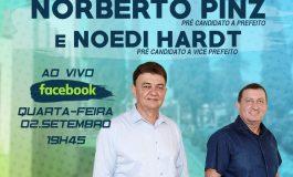 Situação inova e apresenta pré-candidatos a prefeito e vice de Nova Santa Rosa, dia 2, em live no Facebook
