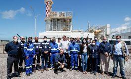 Bolsonaro inaugura termelétrica a gás em Sergipe