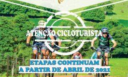 7º Circuito Regional de Cicloturismo será retomado em Abril de 2021