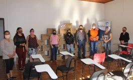 Defesa Civil de Nova Santa Rosa entrega 40 cestas básicas para famílias em vulnerabilidade social