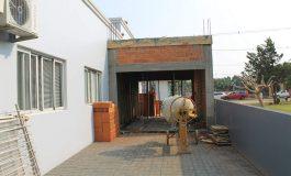 Obra de ampliação do Centro de Saúde de Mercedes está em andamento