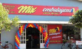 Mix Embalagens e Utilidades de Nova Santa Rosa reinaugura em novo endereço e amplia a linha de produtos