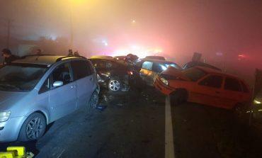 PRF atende acidente com 34 vítimas e sete óbitos, envolvendo 22 veículos, em São José dos Pinhais