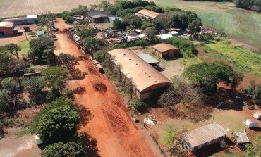 Mais uma rua do Parque Industrial I receberá asfalto em Marechal Rondon
