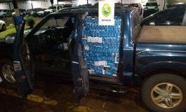 BPFron apreende carro com cigarros contrabandeados em Nova Santa Rosa