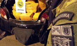 BPFron apreende 268 quilos de maconha em Toledo