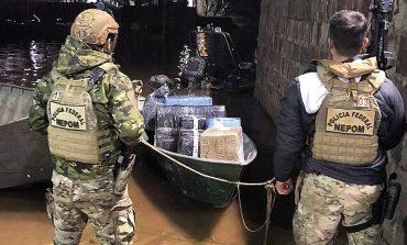 Operação Hórus prende dois e apreende embarcação carregada com eletrônicos; tudo avaliado em R$ 600 mil