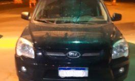PRF de Guaíra recupera veículo furtado no início do mês em Itajaí-SC