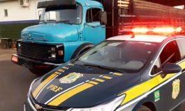 Polícia Rodoviária Federal apreende contrabando escondido sob carga de mandioca em Guaíra