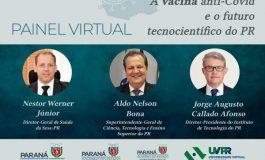 Encontro debate vacina anti-Covid e futuro tecnocientífico do Paraná
