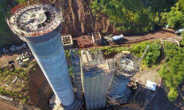 Governador destaca evolução das obras na Ponte da Integração entre Brasil e Paraguai; 30% concluída