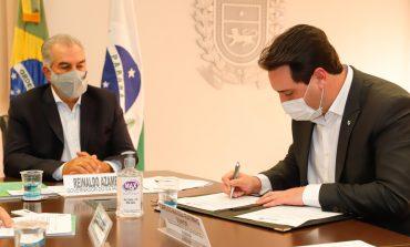 Paraná e Mato Grosso do Sul firmam acordo para ampliar malha ferroviária