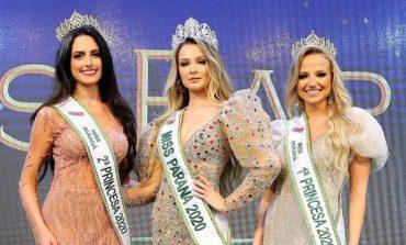 A nova Miss Paraná, Eduarda Van de Sand, de Mercedes, participará de carreata e live hoje (6)