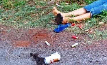 Homem é morto a tiros de calibre 12 em Guaíra