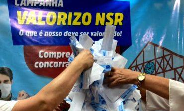 """Confira a lista dos ganhadores do 6º e penúltimo sorteio da campanha """"Valorizo NSR"""" da Acinsar"""